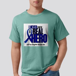 Never Knew A Hero 2 Blue (Daughter) T-Shirt