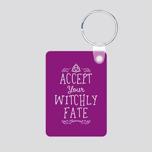 Charmed Witchly Fate Aluminum Photo Keychain