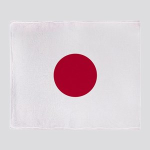 Flag: Japan Throw Blanket