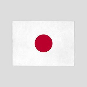Flag: Japan 5'x7'Area Rug