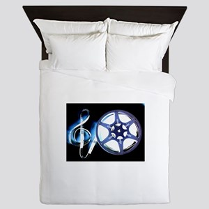 Film Music Design Queen Duvet