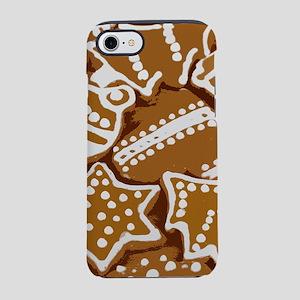 Christmas Gingerbread Styliz iPhone 8/7 Tough Case