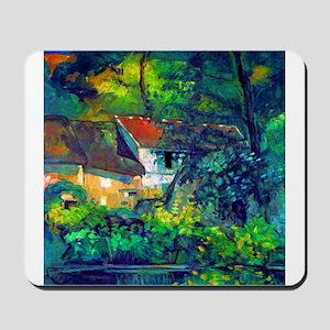 Cezanne House of Pere Lacroix Mousepad