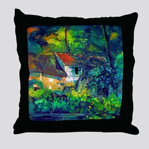 Cezanne House of Pere Lacroix Throw Pillow