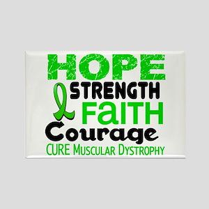HOPE Muscular Dystrophy 3 Rectangle Magnet