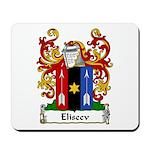 Eliseev Family Crest Mousepad