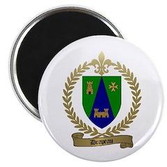 DRAPEAU Family Crest Magnet