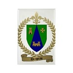 DRAPEAU Family Crest Rectangle Magnet (100 pack)