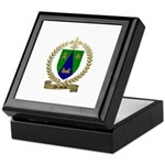 DRAPEAU Family Crest Keepsake Box
