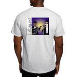 'Hatbag Blues' Ash Grey T-Shirt