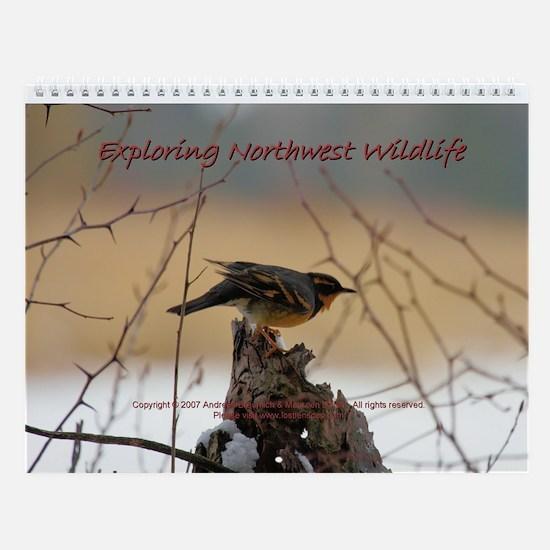 """""""Exploring Northwest Wildlife"""" 8.5x11 Ca"""