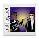 'Hatbag Blues' Tile Coaster