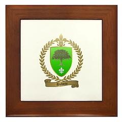 DUBOIS Family Crest Framed Tile