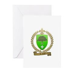 DUBOIS Family Crest Greeting Cards (Pk of 10)