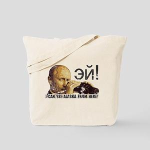 Putin's Palin Tote Bag