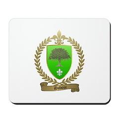 DUBOIS Family Crest Mousepad