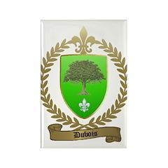 DUBOIS Family Crest Rectangle Magnet (100 pack)