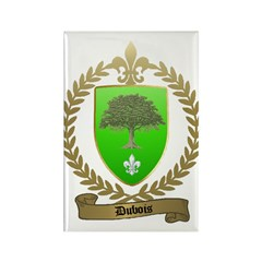 DUBOIS Family Crest Rectangle Magnet (100 pack)