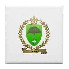 DUBOIS Family Crest Tile Coaster
