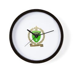 DUBOIS Family Crest Wall Clock