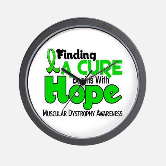 HOPE Muscular Dystrophy 5 Wall Clock