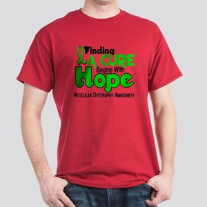 HOPE Muscular Dystrophy 5 Dark T-Shirt