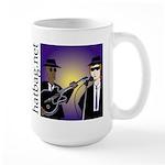 'Hatbag Blues' Large Mug
