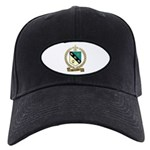 DUCHARME Family Crest Black Cap