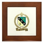 DUCHARME Family Crest Framed Tile