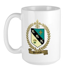 DUCHARME Family Crest Large Mug
