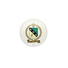 DUCHARME Family Crest Mini Button (10 pack)