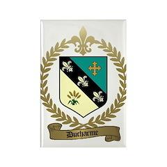 DUCHARME Family Crest Rectangle Magnet