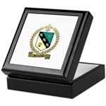 DUCHARME Family Crest Keepsake Box