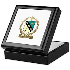 DUCHARME Family Crest Keepsake Box