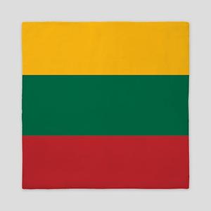 Flag: Lithuania Queen Duvet