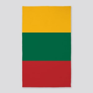 Flag: Lithuania Area Rug