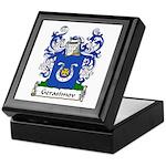 Gerasimov Family Crest Keepsake Box