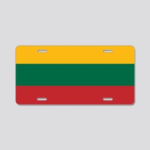 Flag: Lithuania Aluminum License Plate