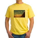 153. cloudz bottom? Yellow T-Shirt
