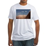 153. cloudz bottom? Fitted T-Shirt