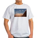 153. cloudz bottom? Ash Grey T-Shirt