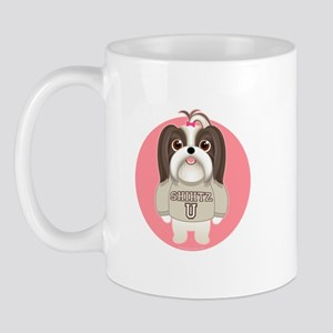 SHIHTZ U. Girl Dog Mug
