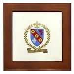 DUFOUR Family Crest Framed Tile