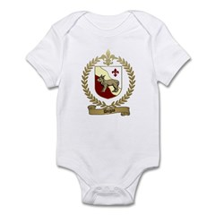 DUGAS Family Crest Infant Creeper