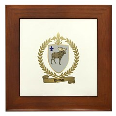 DUMAS Family Crest Framed Tile