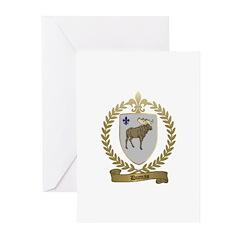 DUMAS Family Crest Greeting Cards (Pk of 10)