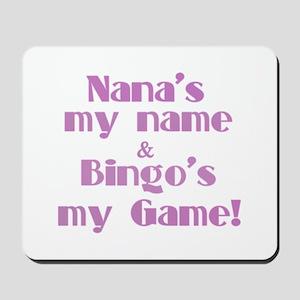 Nana and Bingo Mousepad
