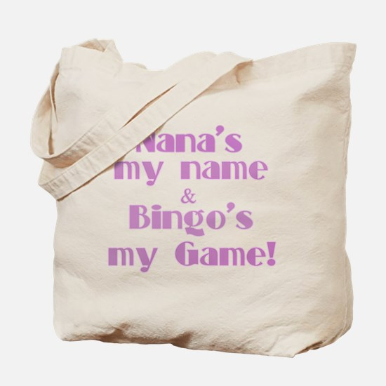 Nana and Bingo Tote Bag
