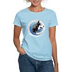 Women's Light T-Shirt w/ Front & Back Images-3