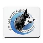 Mousepad with 8 State Kate Fund Logo